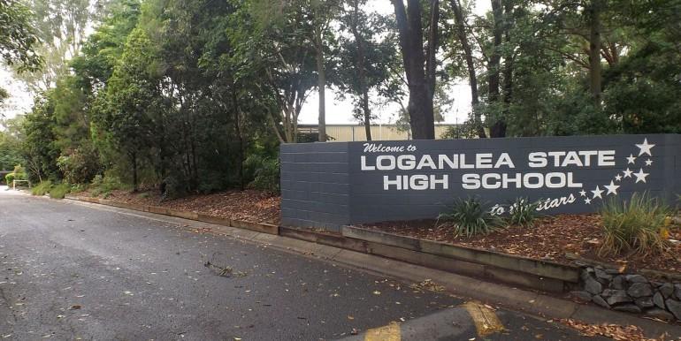 Loganlea_State_High_School_southern_entrance