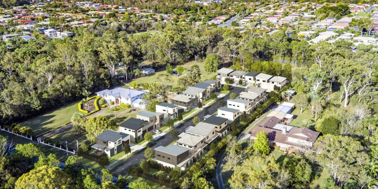 Birds Eye Render - Lot 11 Arrosa Estate