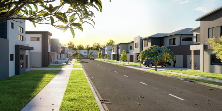 Street View Render - Lot 11 Arrosa Estate