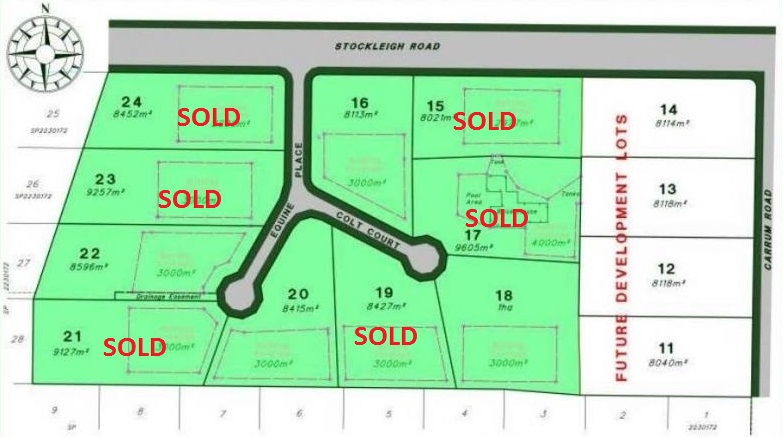 Build on your acreage                   South Maclean