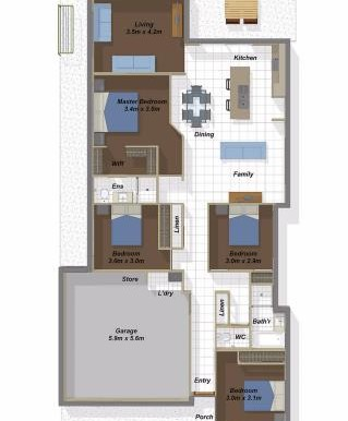 Bangalow BF floorplan