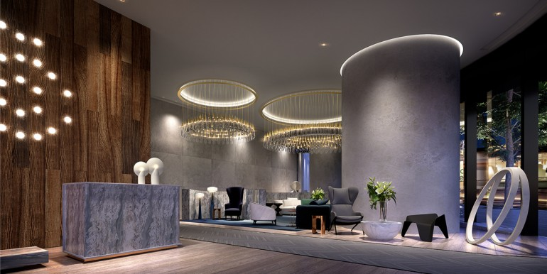 The One Residences Lobby L1