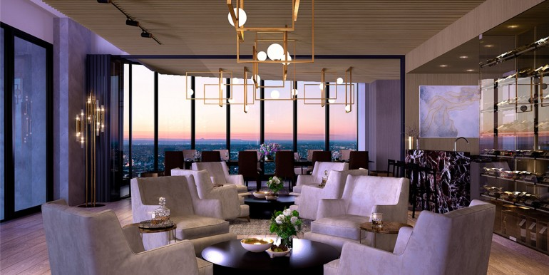 The One Residences Quarter Deck Lounge L45
